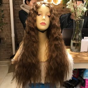 Loose Wave Middle Part Wig